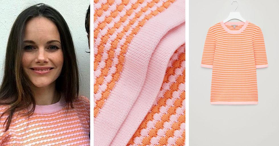 Här klickar du hem prinsessan Sofias somriga tröja