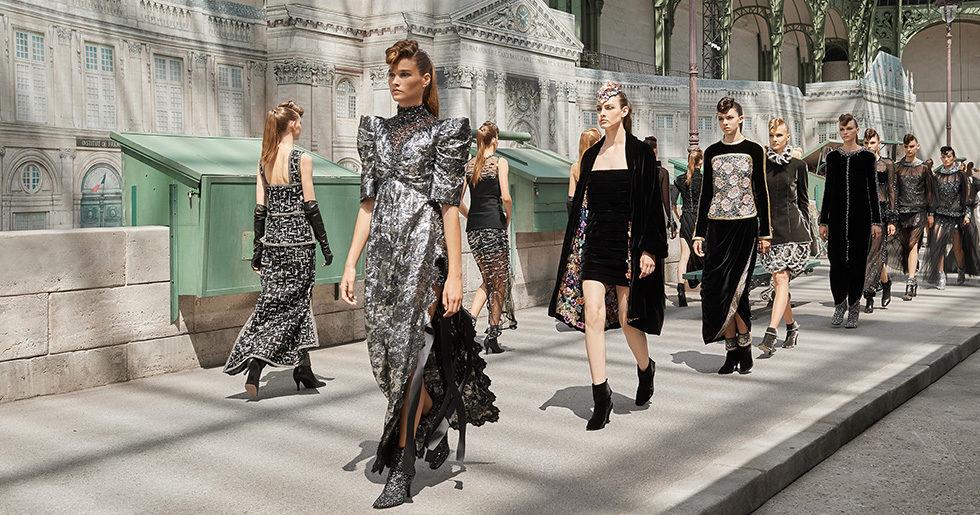 8 underbart vackra detaljer från Chanels couturevisning