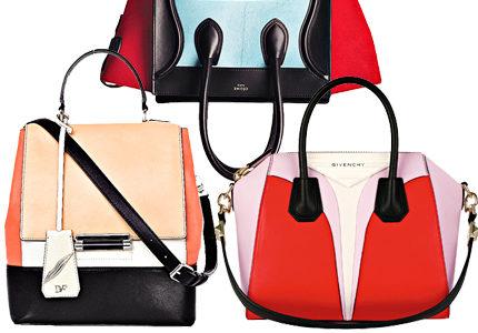 Väskspecial: 8 väskor i matchande färgblock