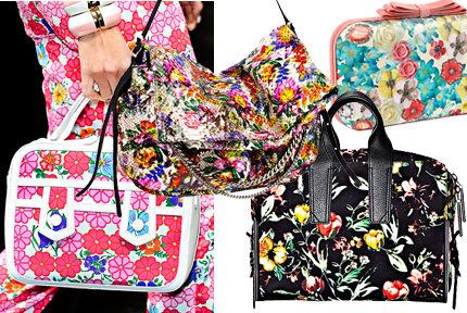 Väskspecial: 5 blommiga väskor