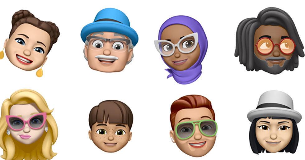 Nu släpper Apple emojis till iPhone som du kan designa själv 5ceaacca4a523