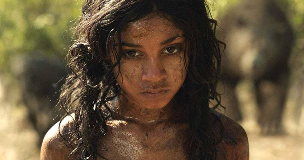 En sliten och ledsen, nära apatisk, Mowgli i Djungelboken.