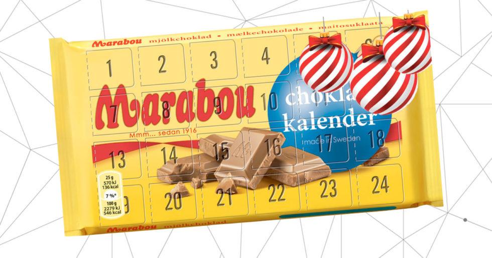 Marabou lanserar en adventskalender – typ...