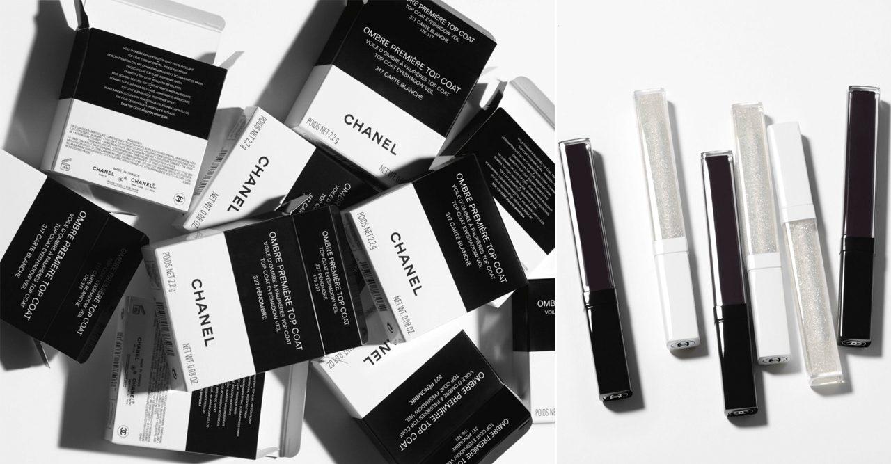 Chanel svartvit makeup