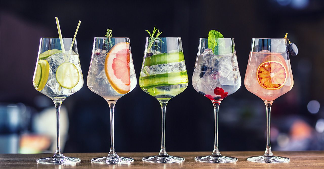 Gin & tonic-recept