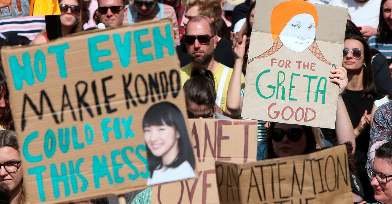 Global klimatstrejk den 27:e september av Greta Thunberg
