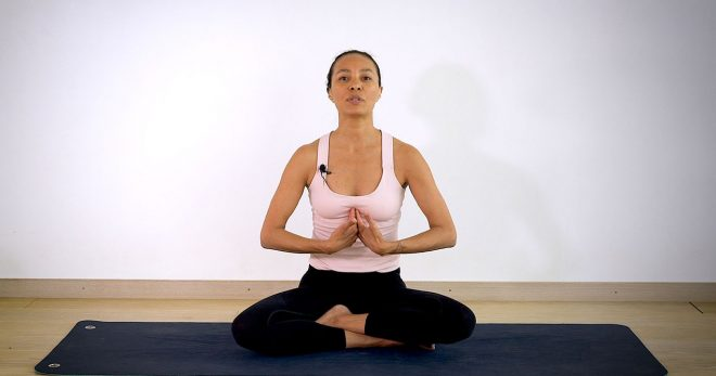 Yogapasset som ger kraft och kärlek till ett krossat hjärta