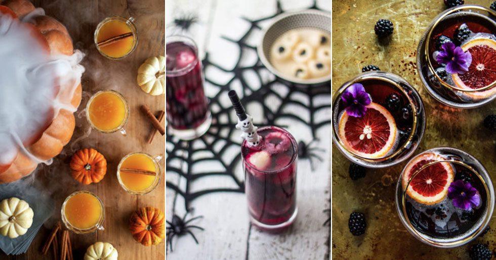 Snygga halloweendrinkar, recept