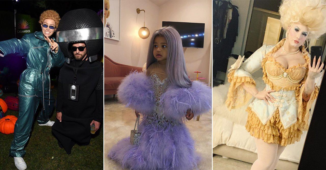 Så ser kändisarna ut på halloween år 2019