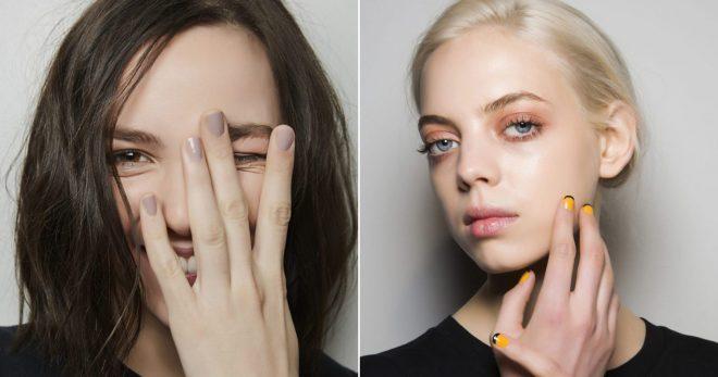 Säsongens nageltrender och årets snyggaste nagellack