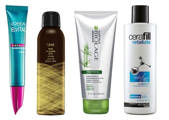 bra schampo för tunt hår