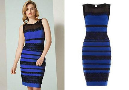 vilken färg har klänningen
