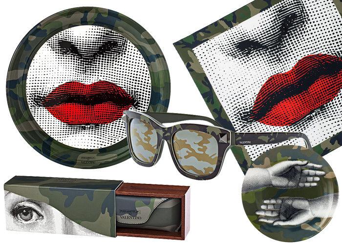 Valentino gör minikollektion med Fornasetti