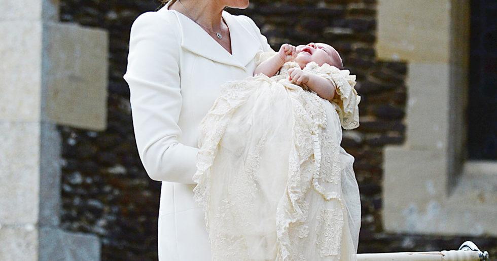 Modeparad under prinsessans dop