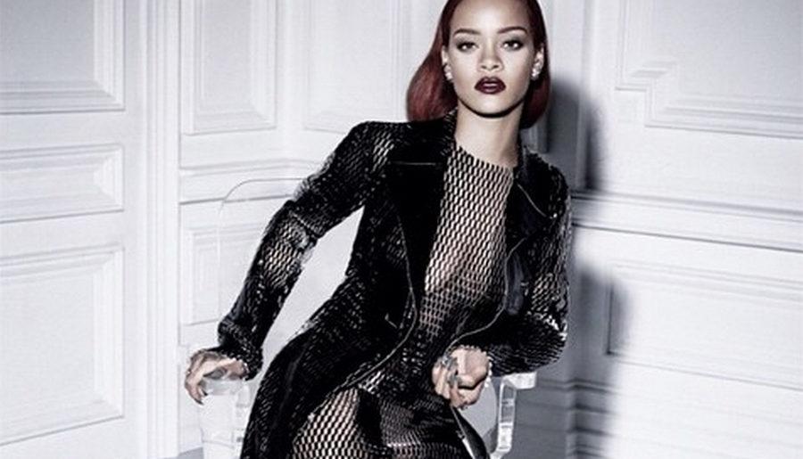 f0b93e019f Rihanna visar första bilderna från plåtningen med Dior mag | ELLE