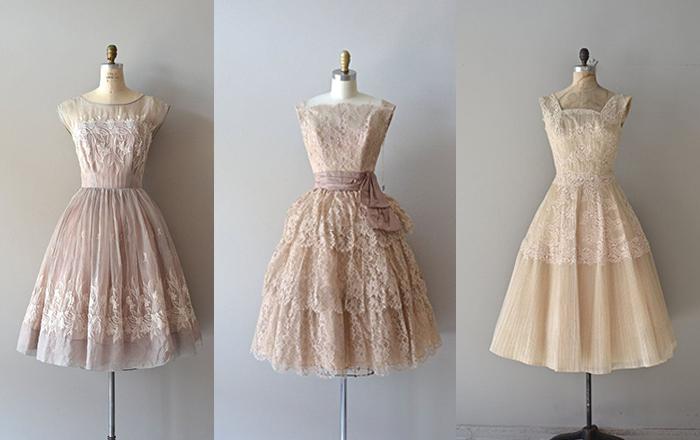 d0c74238 En extremt välgjord, påkostad och helt otroligt vacker gammal festklänning.  Dessa är från 50-talet och inte en röd matta i världen skulle fnysa åt de  här, ...