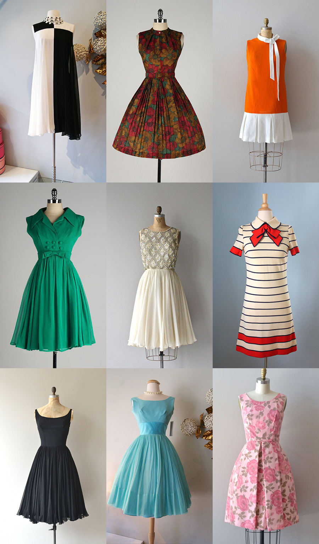 ba58b48c96fb Om vi börjar överst till vänster och tar rad för rad så ser vi först en  klänning som man ibland kallar OP. Alltså Optical art. På 60-talet  fascinerades man ...