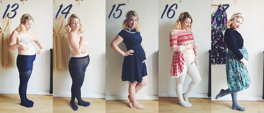 gravidmage vecka för vecka