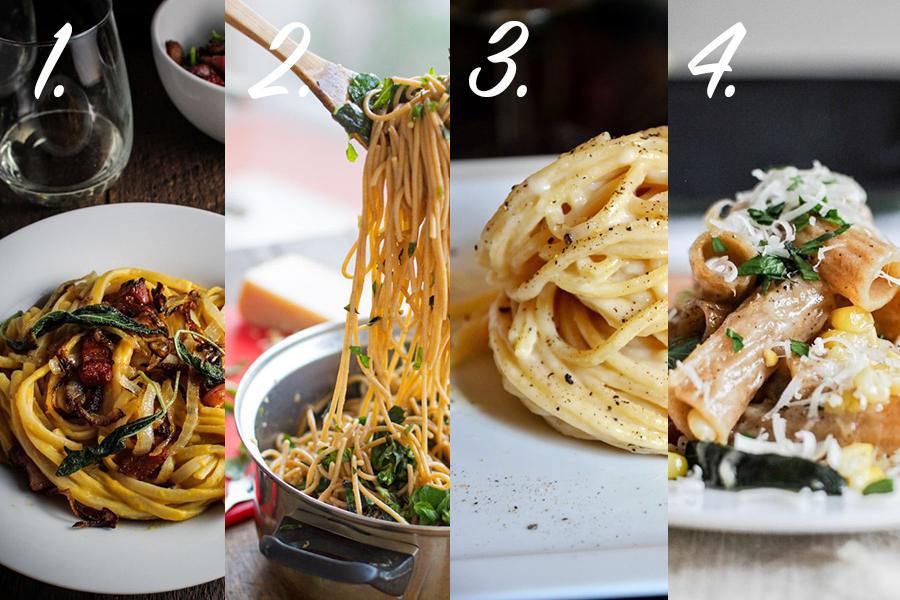 världens godaste pasta recept