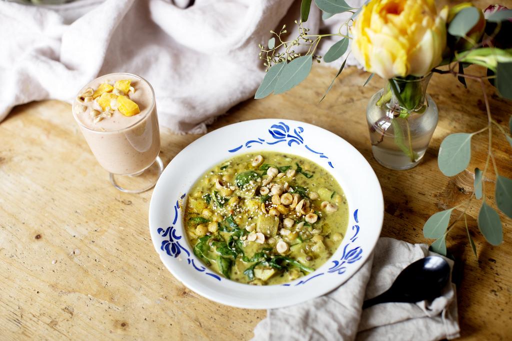 vegansk lunch recept