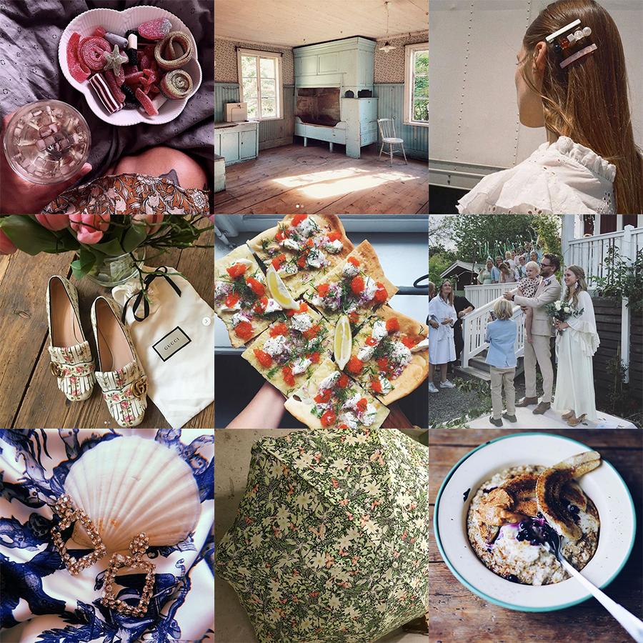 a00a298a2c5e Jag behöver inte många fler platser än Instagram för att få min dagliga dos  inspiration. Ena veckan faller jag för sobert och skirt sommartorrt, ...