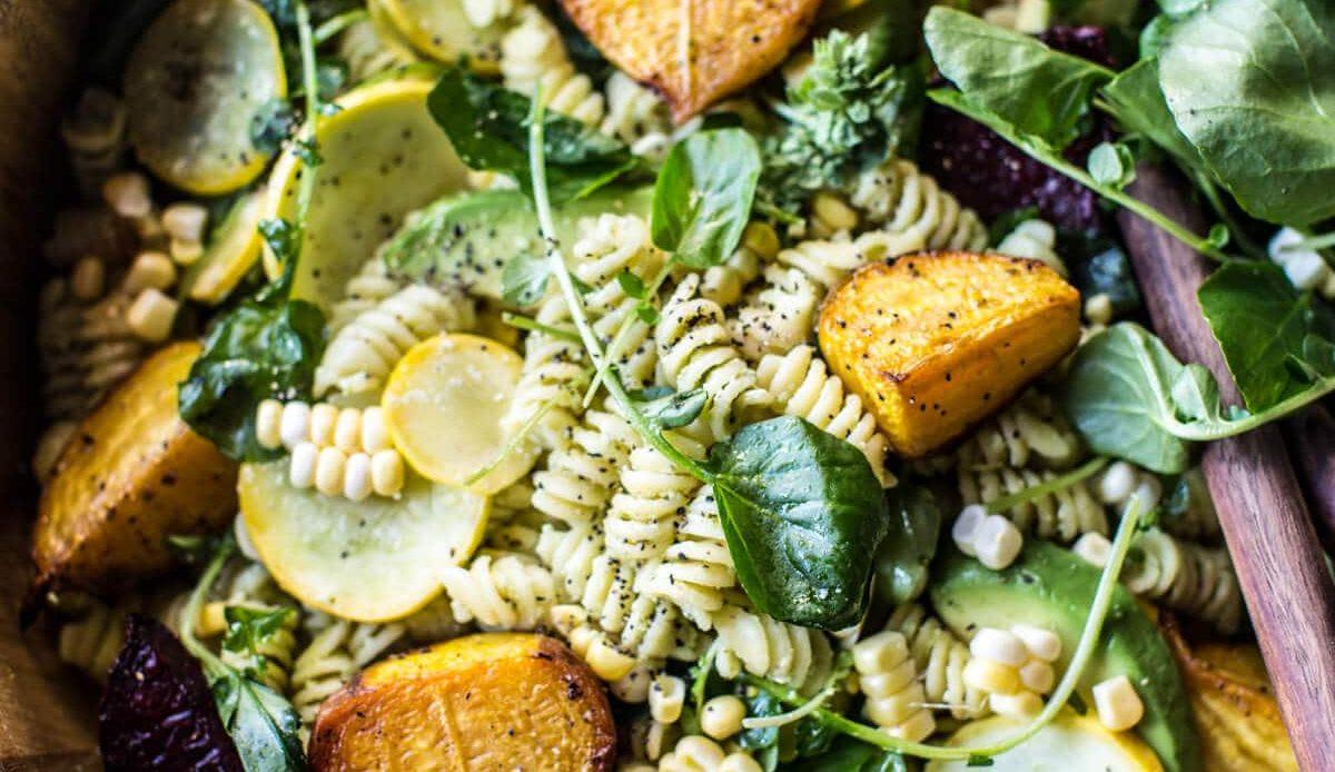 Vegetarisk matsedel – januari
