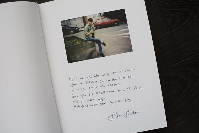 ATT GÖRA HÅKAN HELLSTRÖMS FOTOBOK | Emma Svensson Rockfotoemma