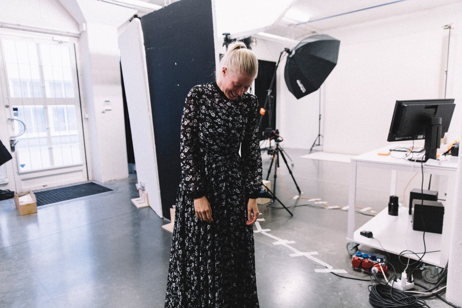 Behind the scenes Ida Sjöstedt lookbook shoot