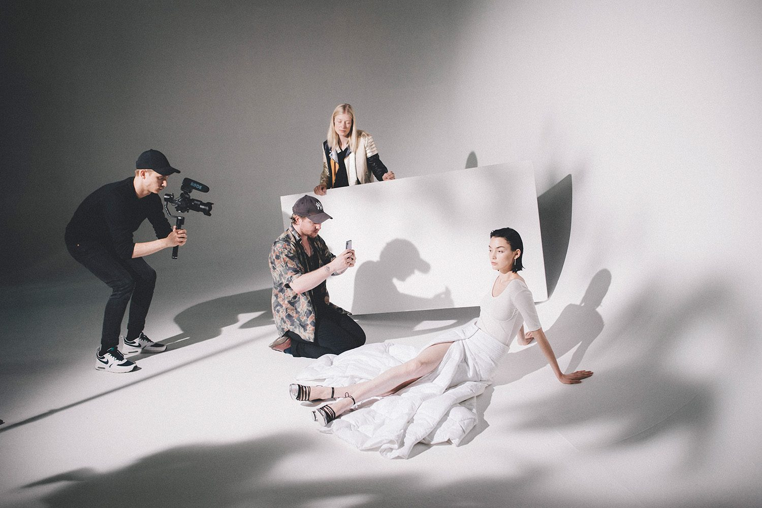 Behind the scenes: Lookbook for Huawei