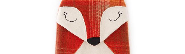 Bright Fox Hottie Cover  by ZippityDoodah
