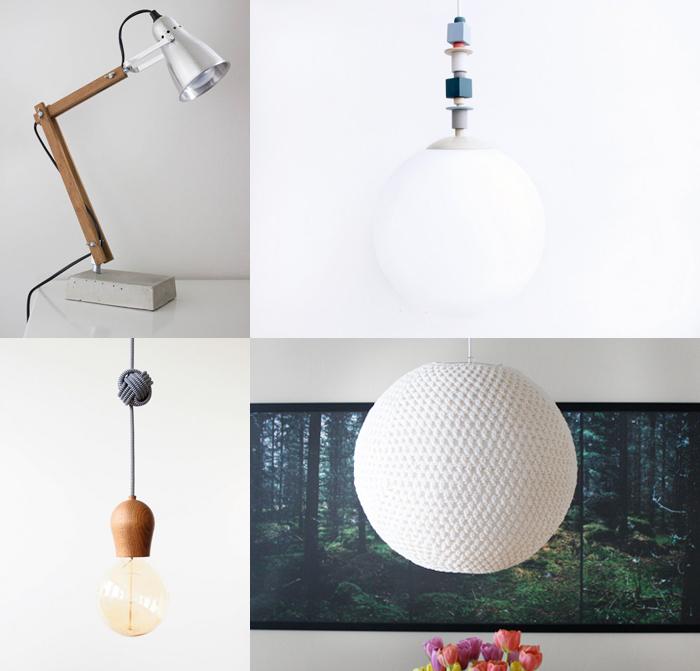 Lampor x 4 | DIY or DIE