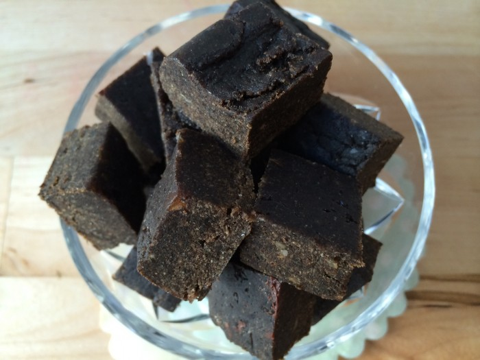 anjas raw lakritsfudge