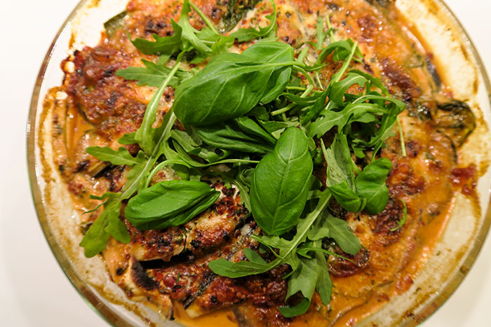 vegetables lasagne