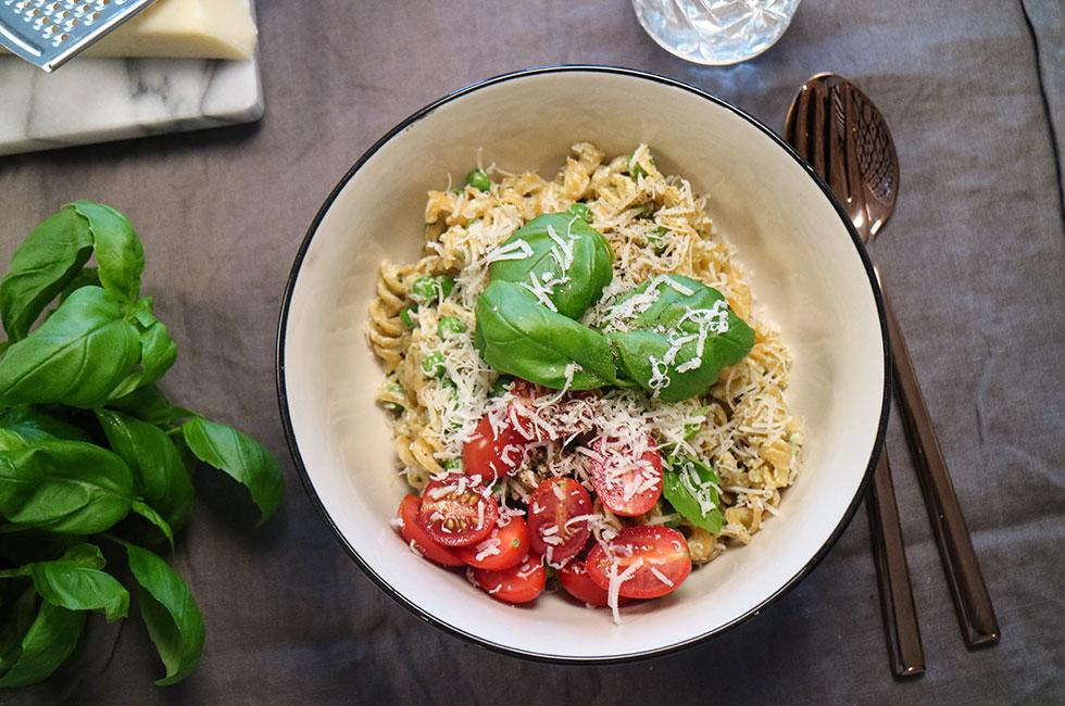 vegetarisk pastasås linser
