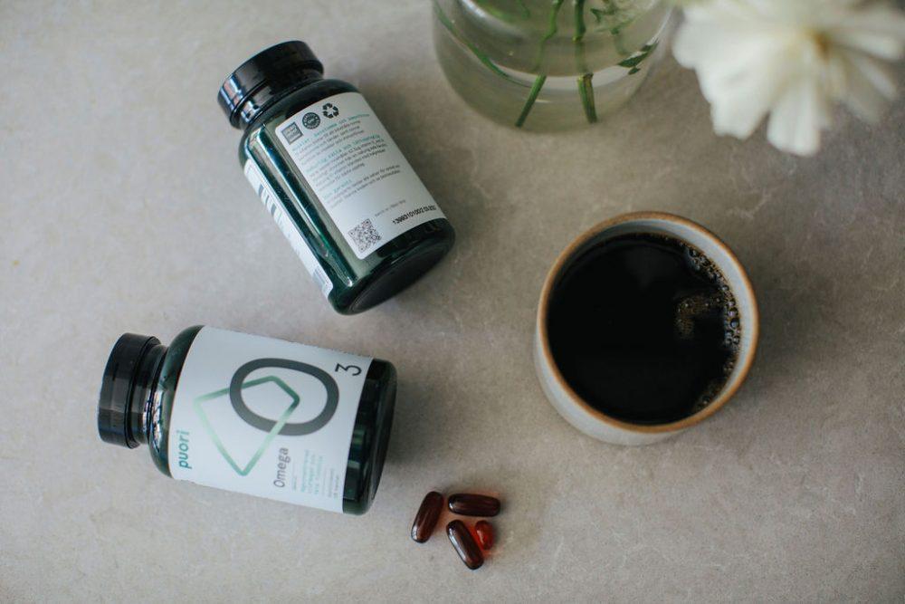 puori kosttillskott frukost kaffe
