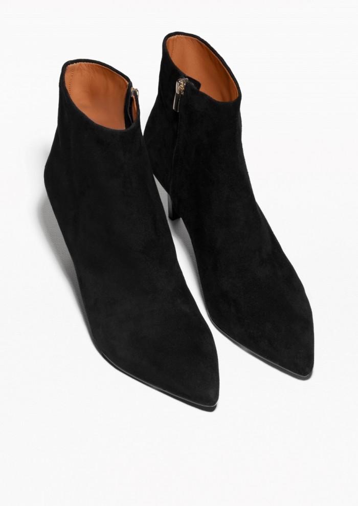 boots spetsig tå
