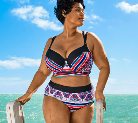 tjockis i bikini