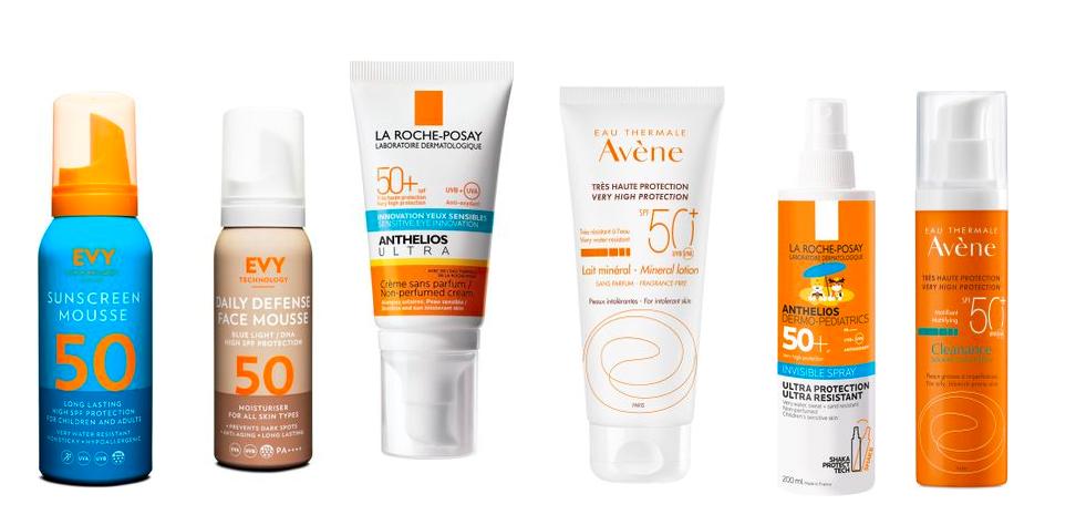 Solkräm för ansikte, parfymfri och antiage | Kakan Hermansson