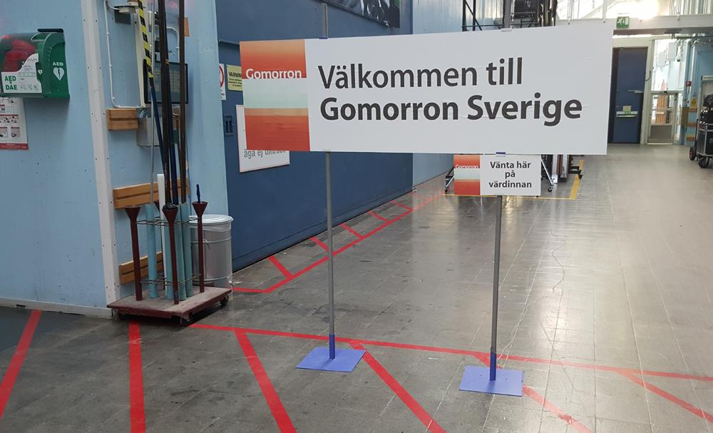 Häng med bakom kulisserna på Svt Gomorron Sverige | Nina