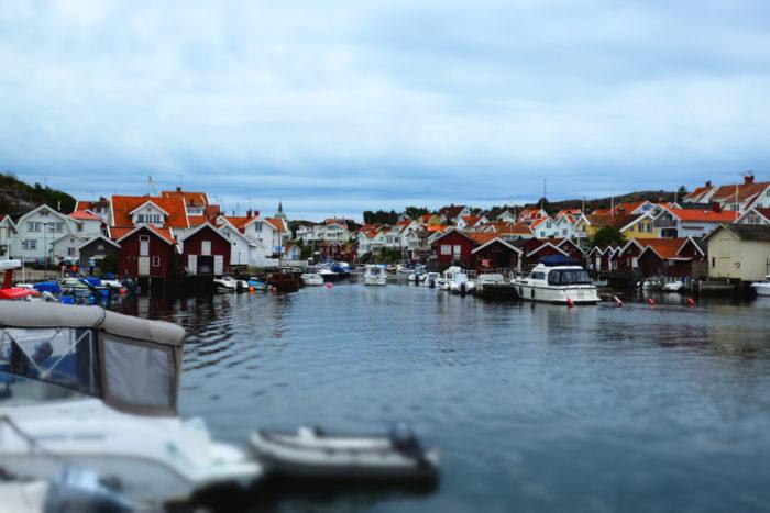 Vackra Grundsund stod värd när vi hade vår årliga kräftskiva - bländande vackert Sverige är!!