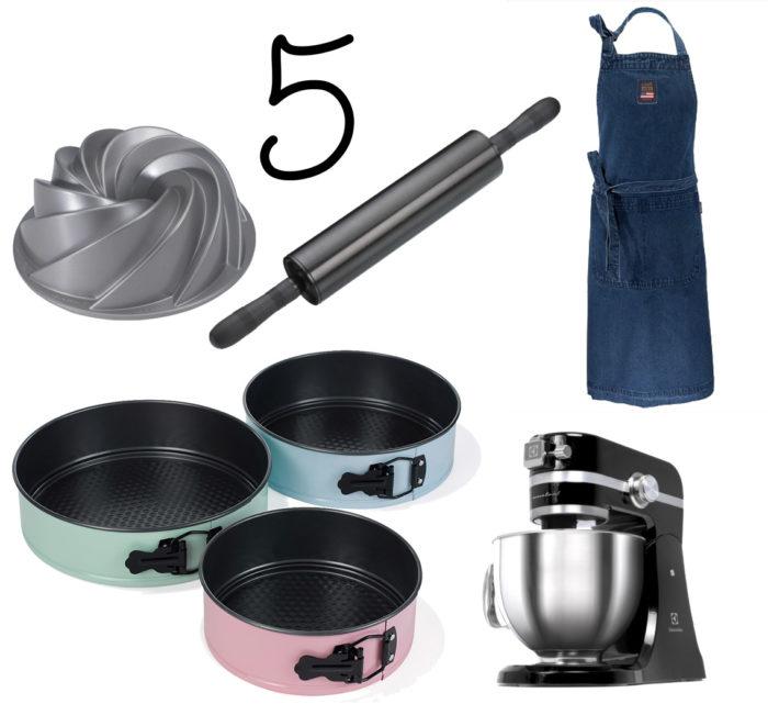 Fem för hemmet ger dig inspiration för hemmet - idag tema bakning!