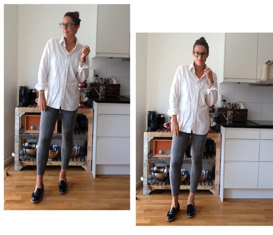 Outfit of the day, wohoo, Nina Campioni kör på silverbralla fro Gina Tricot bland annat - kolla in!