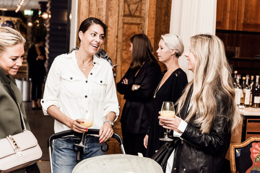Frukostmingel med designer Rebecka Minkoff på Bobgers Matsal på NK