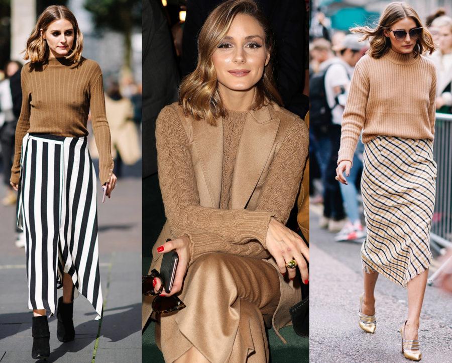 Tre är en trend - bruna stickade tröjor - eller ja, allt som är brunt!