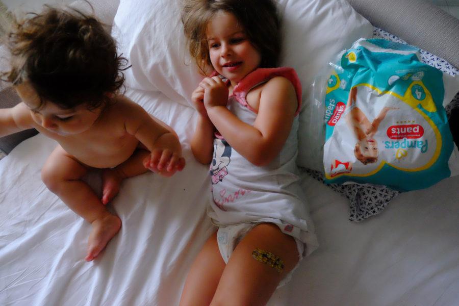 Samarbete med Pampers Premium Protection Pants