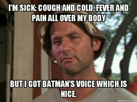Sjuk…igen!