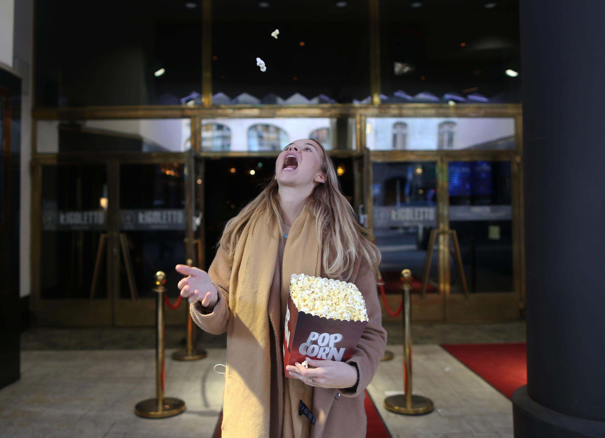 Popcorn och Hogwarts