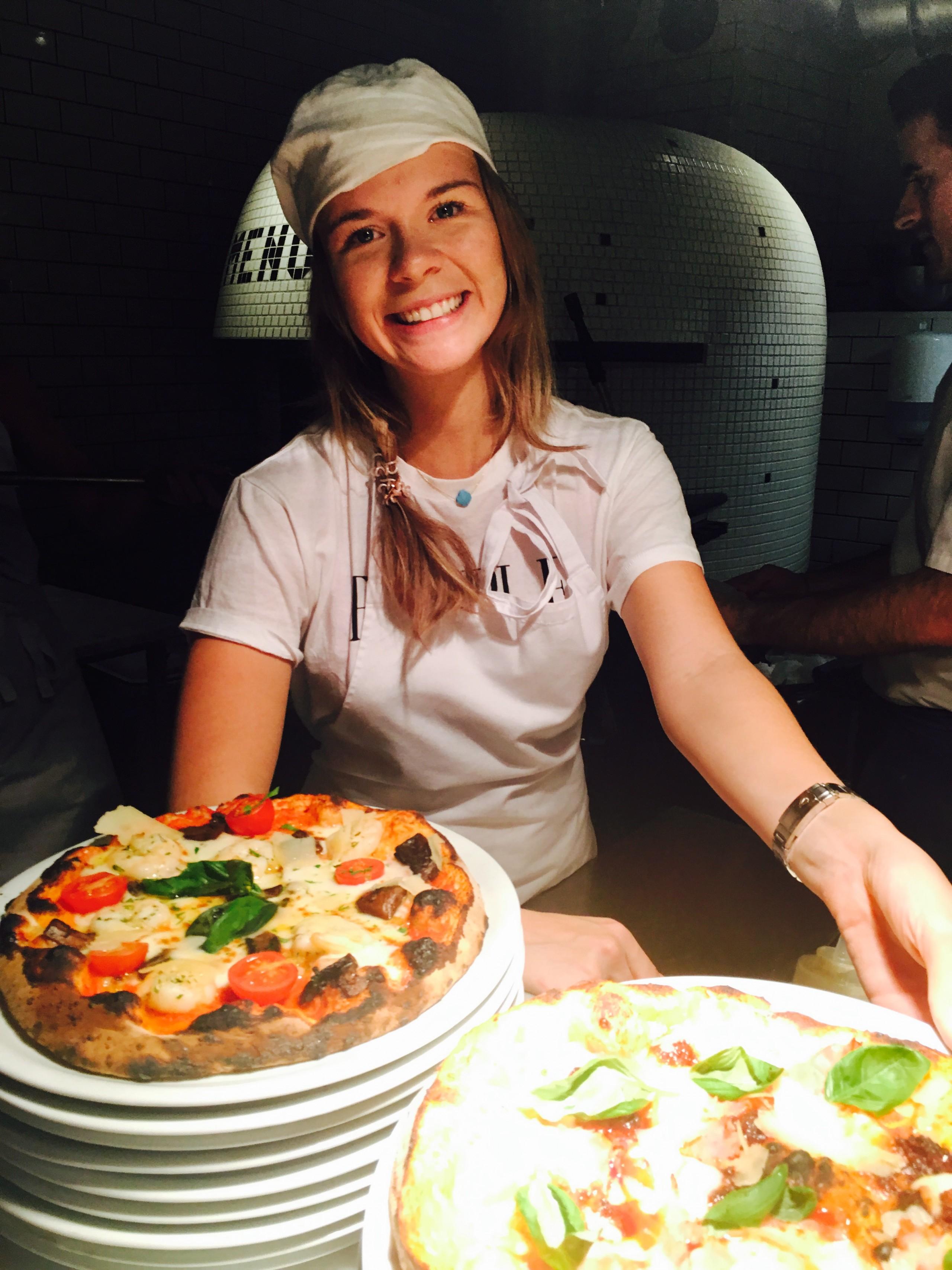 Pizza-favoriter i Stockholm och nyårsfirande!
