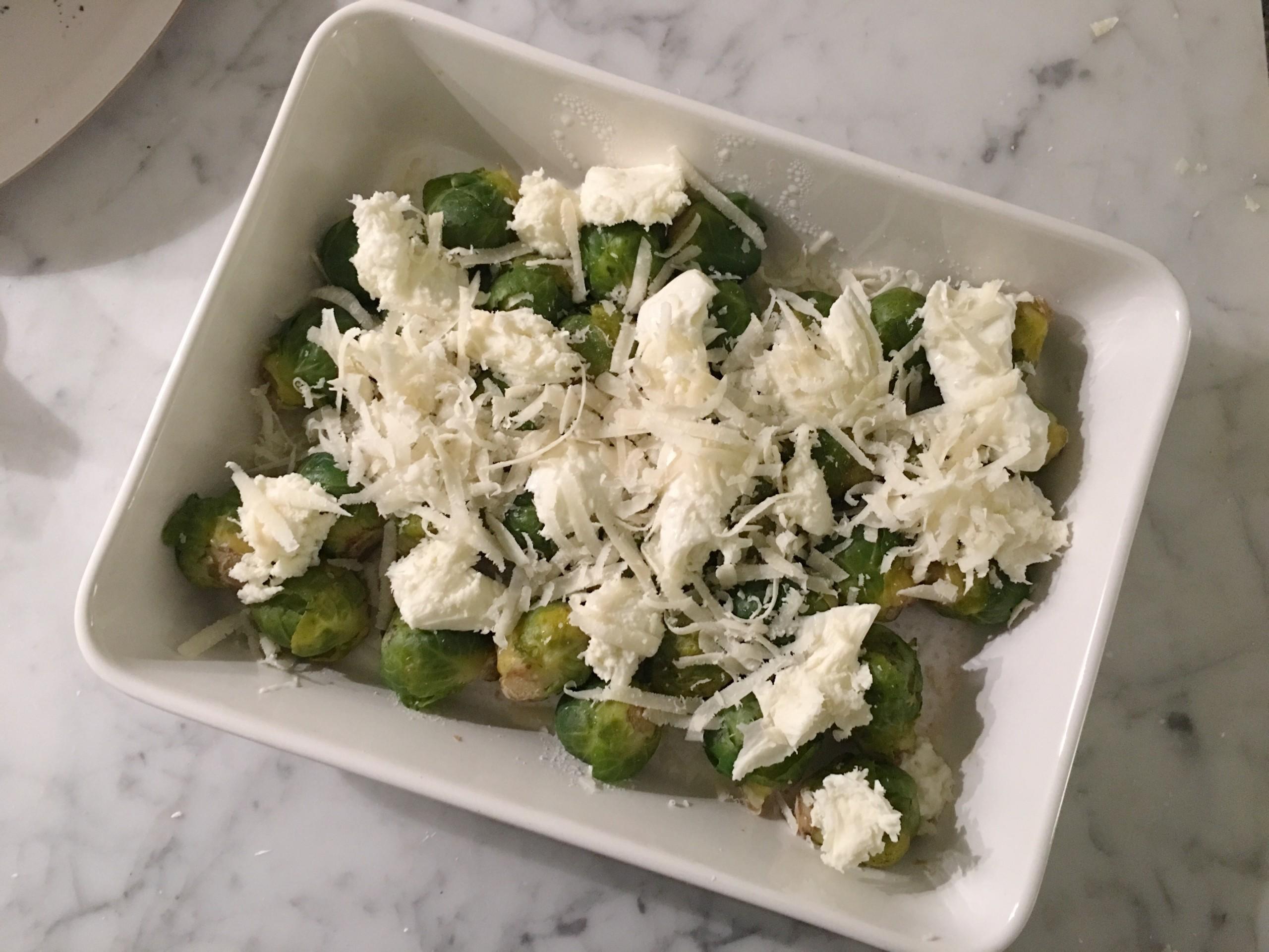 Recept – Brysselkål med smält ost!