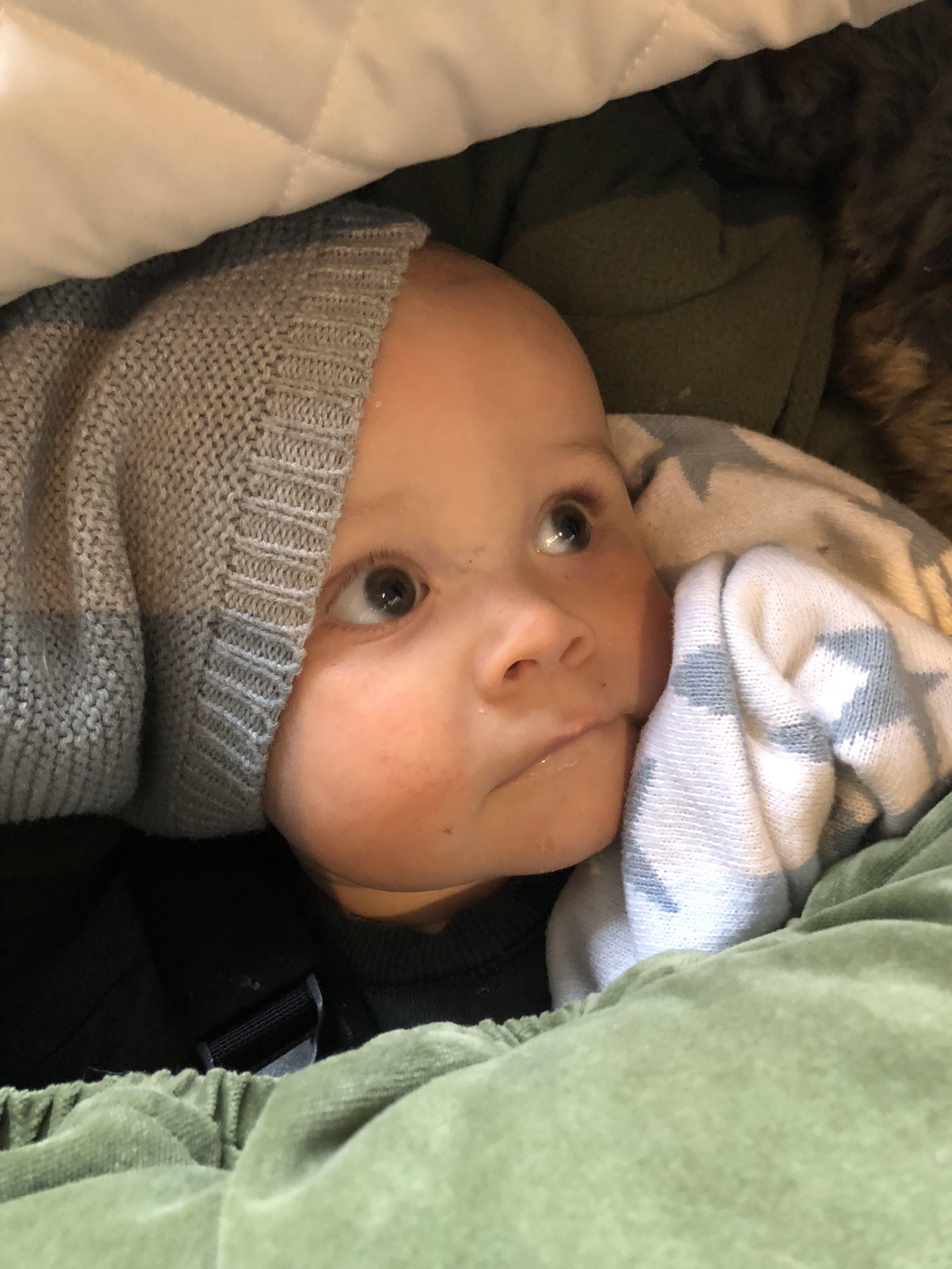 fastklistrad bebis | margaux dietz